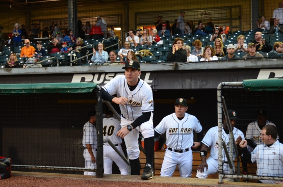 2014 Hot Rods Manager Michael Johns